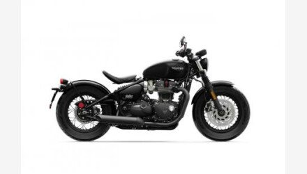 2020 Triumph Bonneville 1200 Bobber Black for sale 200923324