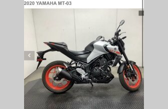 2020 Yamaha MT-03 for sale 201183609