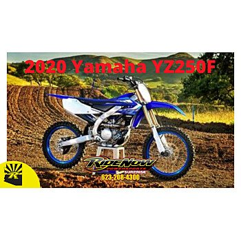 2020 Yamaha YZ250F for sale 200813628