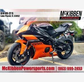 2020 Yamaha YZF-R6 for sale 200971524