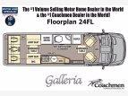 2021 Coachmen Galleria for sale 300251583