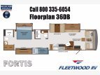 2021 Fleetwood Fortis for sale 300276065
