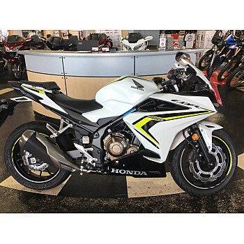 2021 Honda CBR500R for sale 201020380