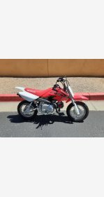 2021 Honda CRF50F for sale 200930952