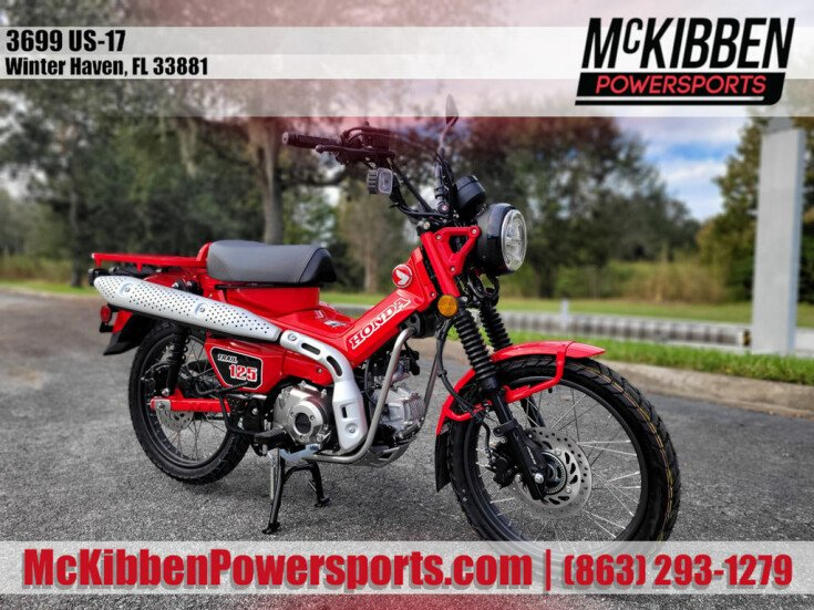 2021 Honda Trail 125 for sale 201012058