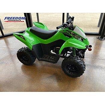 2021 Kawasaki KFX50 for sale 201007231