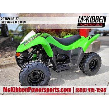 2021 Kawasaki KFX50 for sale 201143774