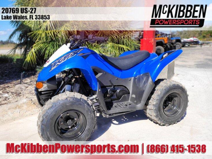 2021 Kawasaki KFX90 for sale 201028087