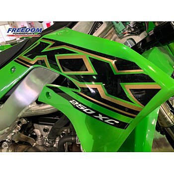 2021 Kawasaki KX250 X for sale 200986442