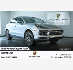 2021 Porsche Cayenne for sale 101411499