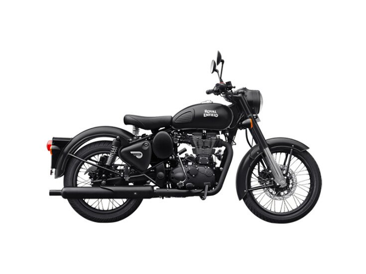 2021 Royal Enfield Classic 500 Stealth Black specifications