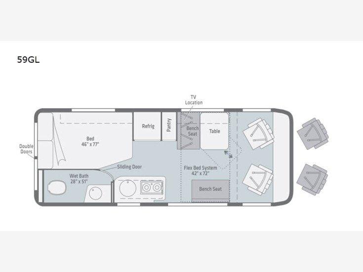 2021 Winnebago Travato for sale 300257900