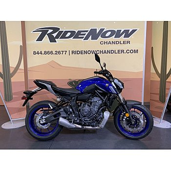 2021 Yamaha MT-07 for sale 201061099
