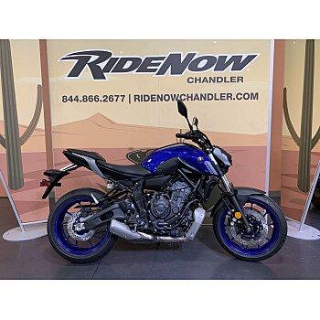 2021 Yamaha MT-07 for sale 201077676