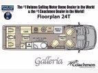 2022 Coachmen Galleria 24T for sale 300322239