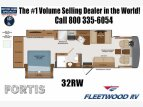 2022 Fleetwood Fortis for sale 300282751