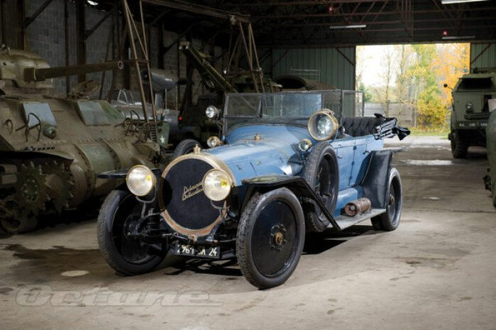 Driven: Delaunay-Belleville Type O6