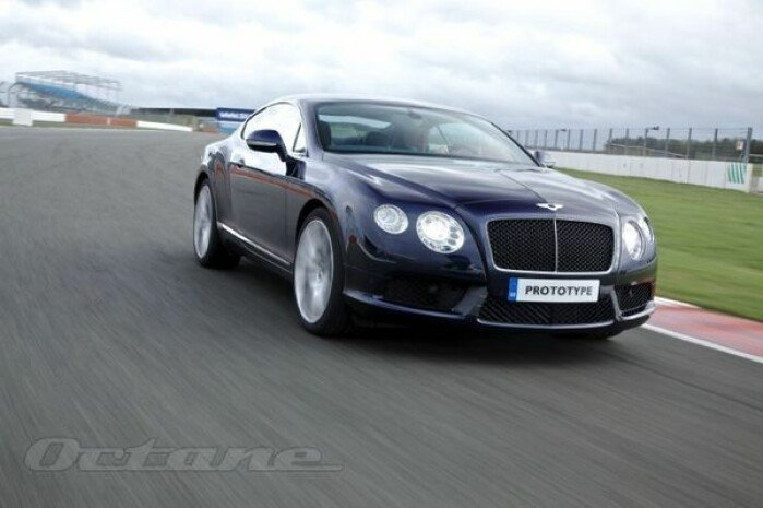 Driving The Bentley Continental V8
