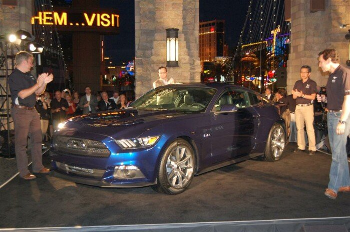 Report: Mustang 50th Celebration in Las Vegas