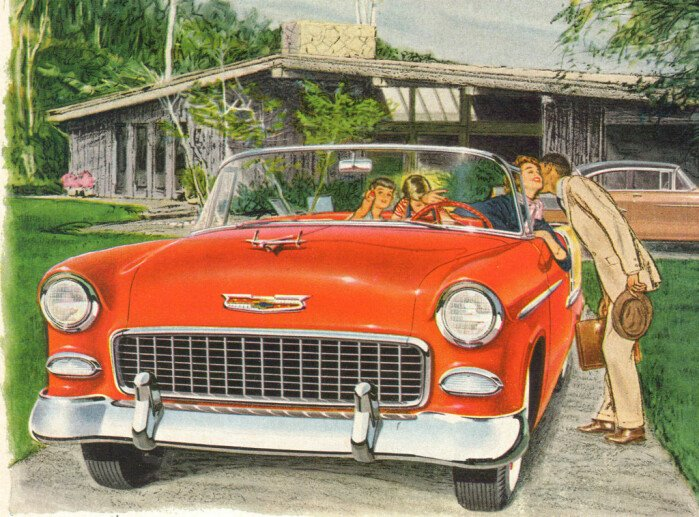 The 1950s Timeline: Year 1955
