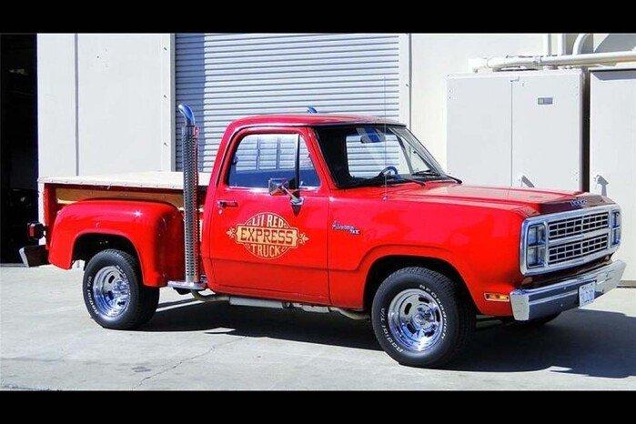 1978-1979 Dodge Li'l Red Express