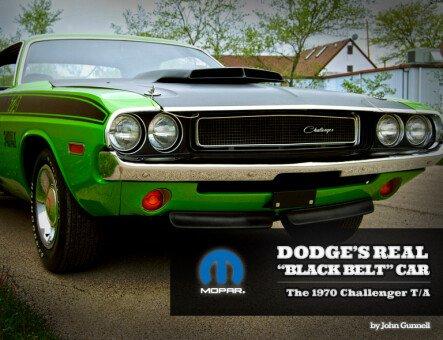 """Dodge's Real """"Black Belt"""" Car"""