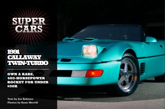 1991 CALLAWAY TWIN-TURBO - Classics on Autotrader