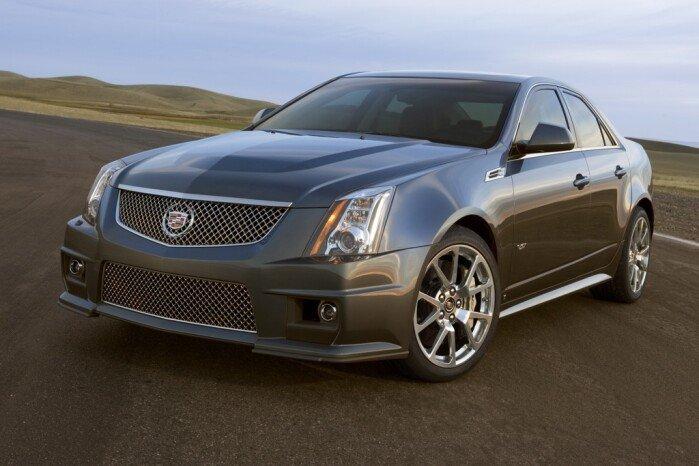 2012 Cadillac CTS-V: New Car Review