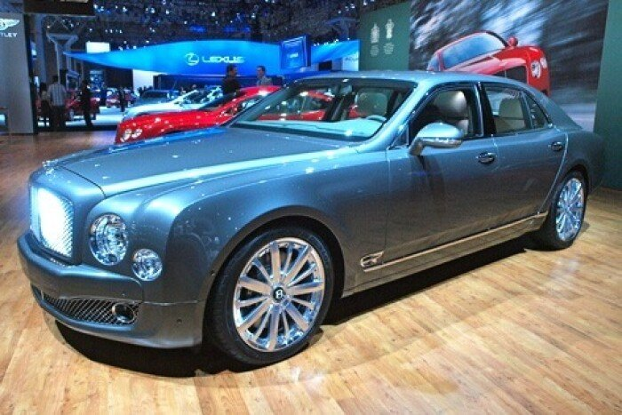 2013 Bentley Mulsanne: New York Auto Show