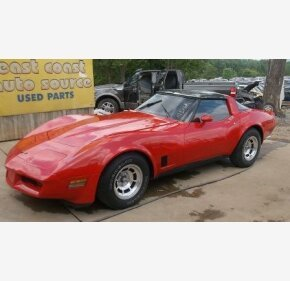 1981 Chevrolet Corvette Coupe for sale 100293286