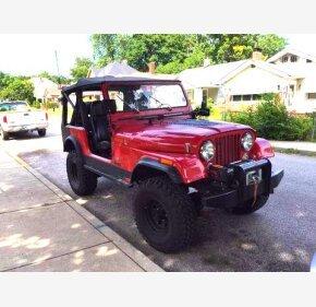 1986 Jeep CJ for sale 100779519