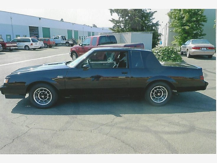 1987 Buick Regal Grand National For Sale Near Oakland California