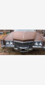 1972 Cadillac Fleetwood for sale 100866392
