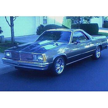 1981 Chevrolet El Camino for sale 100919413