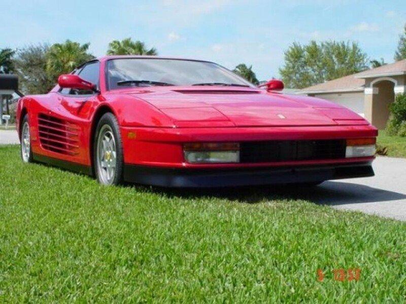 1991 Ferrari Testarossa For Sale Near Cadillac Michigan 49601 Classics On Autotrader