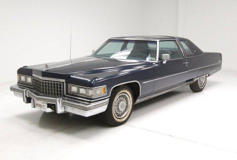 1976 Cadillac De Ville Classics for Sale - Classics on