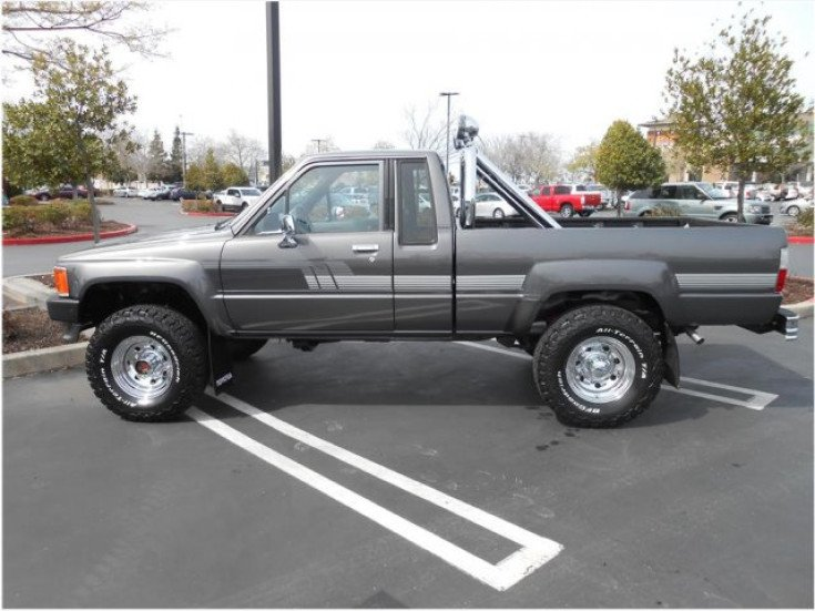 Toyota Pickup 4x4 >> 1987 Toyota Pickup 4x4 Xtracab Deluxe For Sale Near Roseville