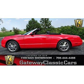 2002 Ford Thunderbird for sale 100963508