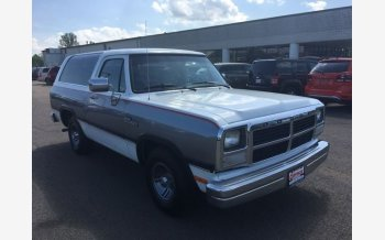 1992 dodge ramcharger 2wd