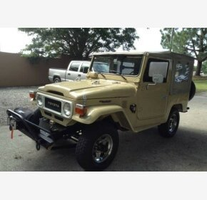 1981 Toyota Land Cruiser for sale 101000808