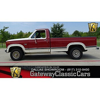 1986 Ford F150 4x4 Regular Cab for sale 101009884