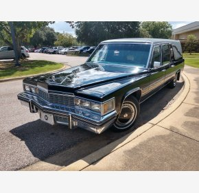 1977 Cadillac Fleetwood Hearse for sale 101018694
