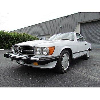 1987 Mercedes-Benz 560SL for sale 101018705