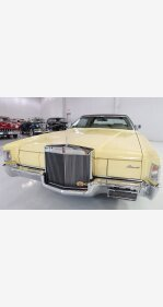 1972 Lincoln Mark IV for sale 101027990