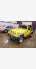 2005 Jeep Wrangler 4WD Unlimited for sale 101029688