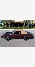 1982 Chrysler LeBaron Medallion Convertible for sale 101031048