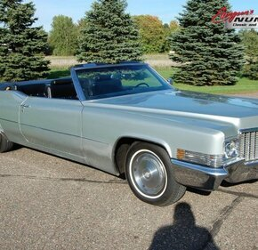 1970 Cadillac De Ville for sale 101036394