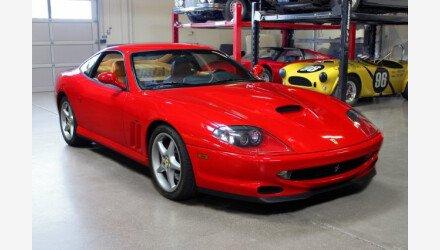 2001 Ferrari 550 Maranello Coupe for sale 101043056