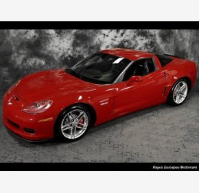 2008 Chevrolet Corvette Z06 Coupe for sale 101045307