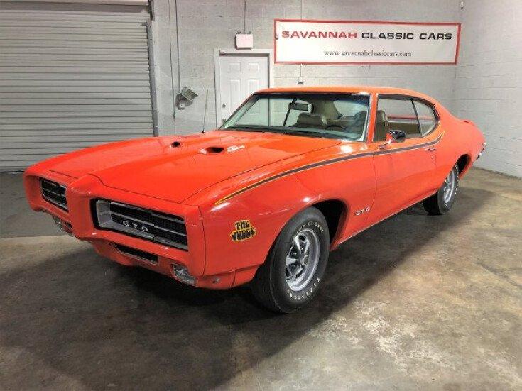 Cars For Sale Savannah Ga: 1969 Pontiac GTO For Sale Near Savannah, Georgia 31415